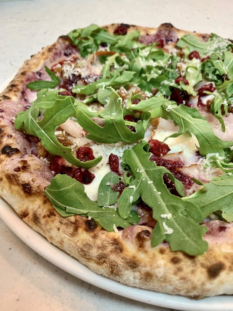 December's Special - Christmas Pizza